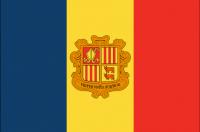 ANDORRA Nylon Country Flag