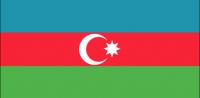AZERBAIJAN Nylon Country Flag