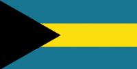 BAHAMAS Nylon Country Flag