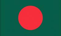 BANGLADESH Nylon Country Flag