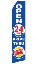 Burger King 24 HR Drive Thru Blue