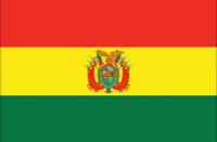 BOLIVIA Nylon Country Flag