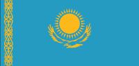 KAZAKHSTAN Country Flag