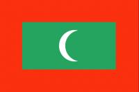 MALDIVES Country Flag