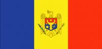MOLDAVIA Country Flag