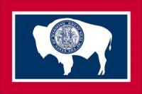 Wyoming State Flag