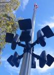 """840 LUX LED """"Extreme"""" Solar Flagpole Light"""
